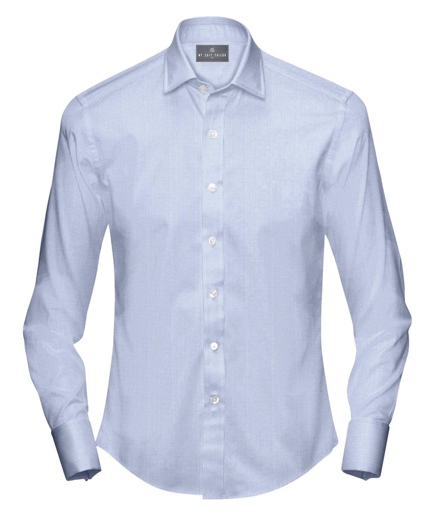Wrinkle Free Soho Blue Dress Shirt