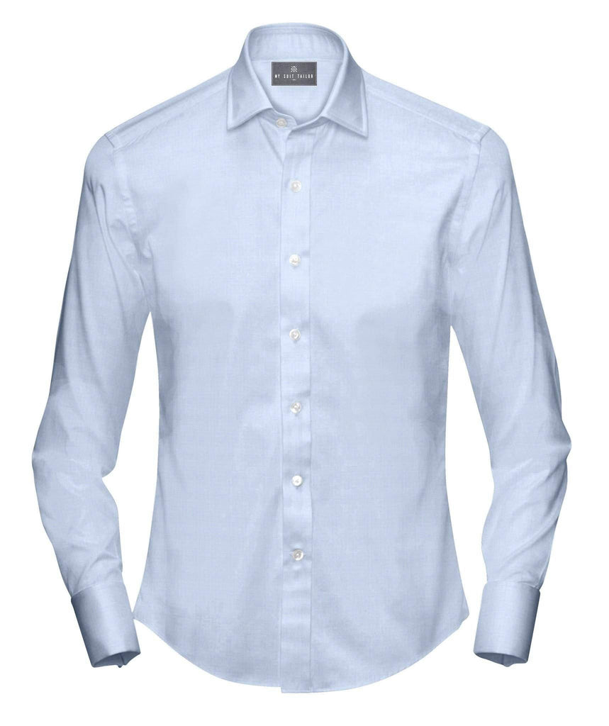 Blue Easy Iron Dress Shirt