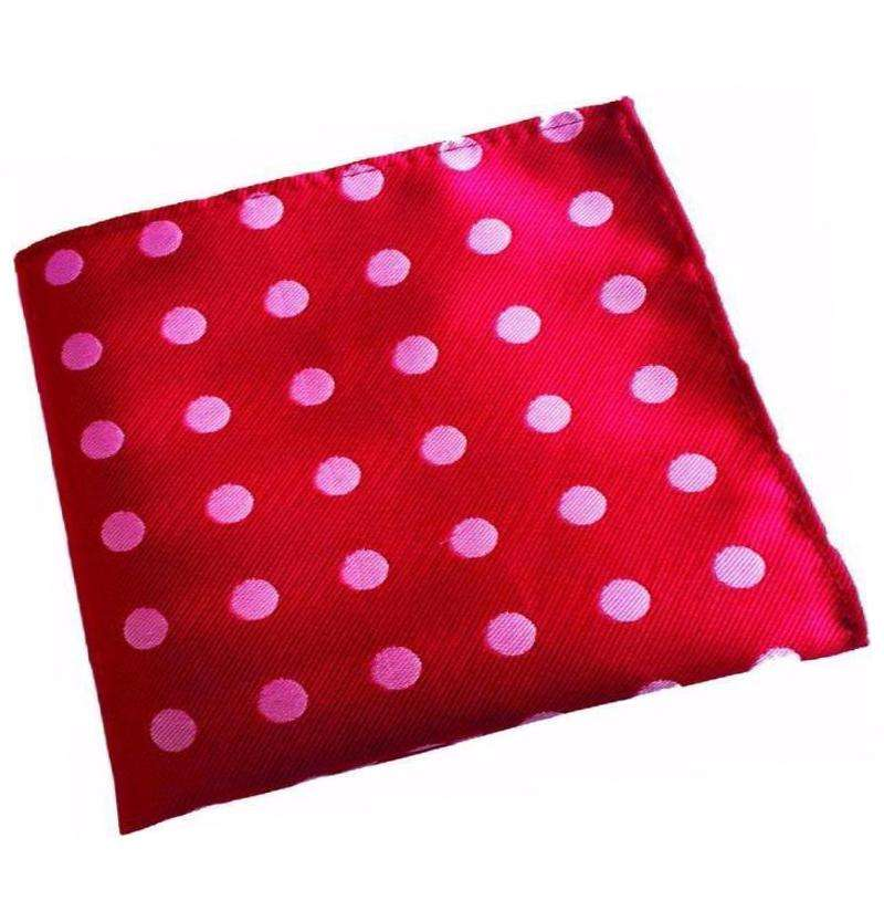 Red Dotted Handkerchief