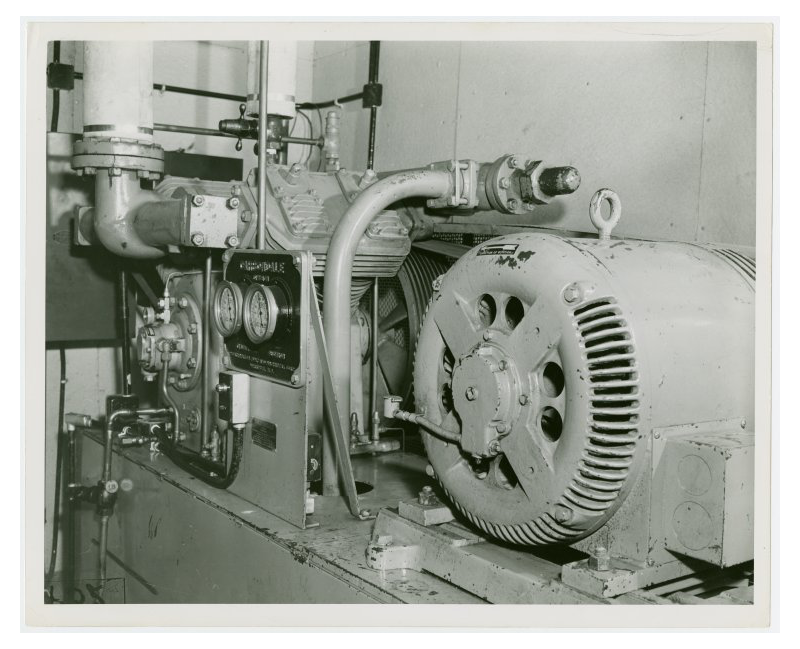 An AC Air Compressor from the 1939 New York World's Fair