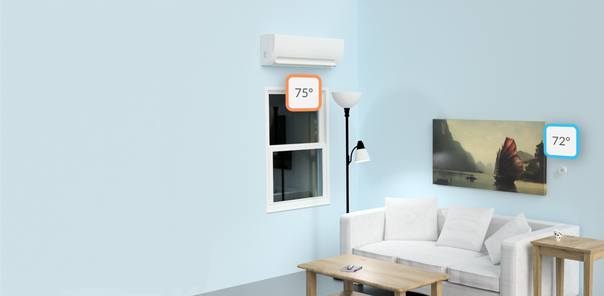 Smart Thermostats for Mini Splits, Window ACs, and Portables