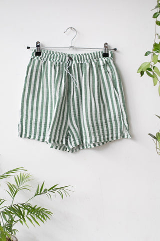 Organic Cotton Green Shorts