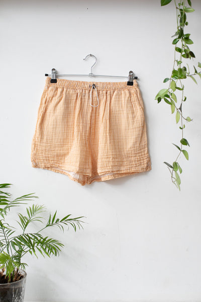 Organic Cotton Orange Shorts