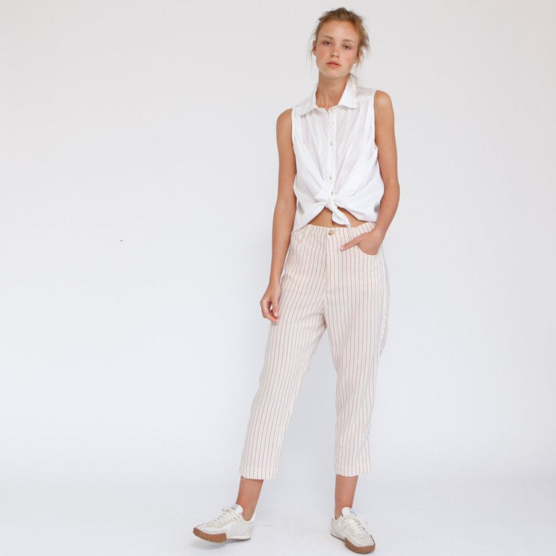 Chilli Cropped relaxed-fit Pants