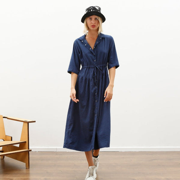 Snap Maxi Dress, Blue *New Arrivals*