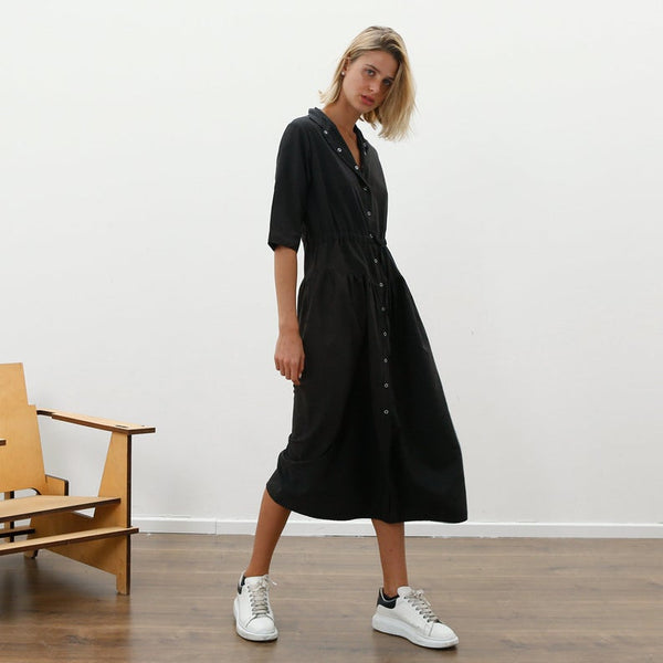 Snap Maxi Dress, Black *New Arrivals*