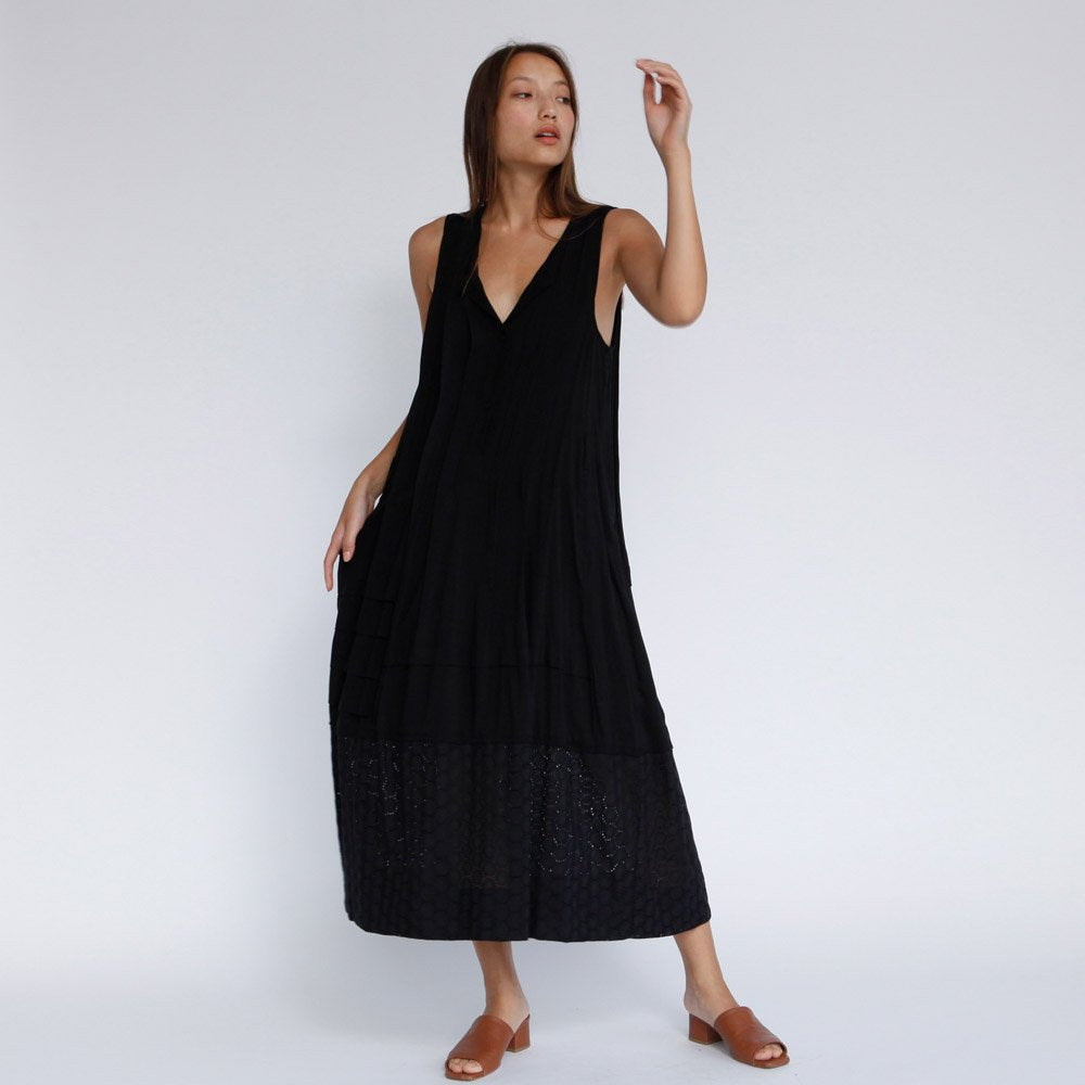 The Sofia Maxi Dress Black