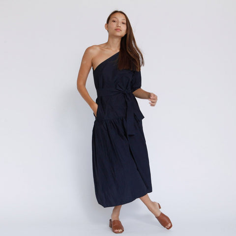 The Marisol One Shoulder Dress
