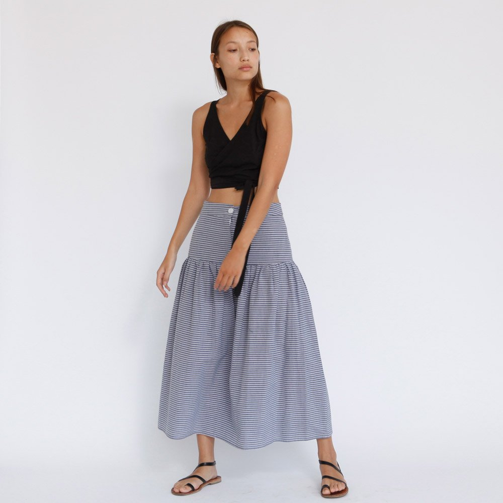 The Valdis Midi Skirt