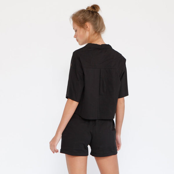 Aria Summer Shorts, Black