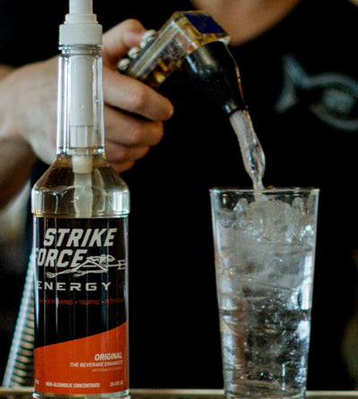 Strike Force Creates Space On Your Bar