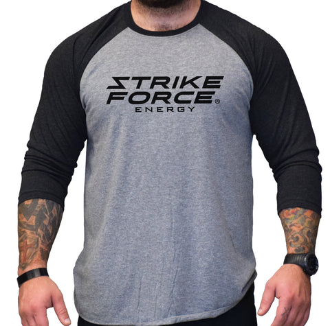Strike Force Stacked 3/4 Raglan