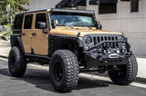 2007-2016 Jeep Wrangler 2 Door Smittybilt XRC Armor Front & Rear Kit