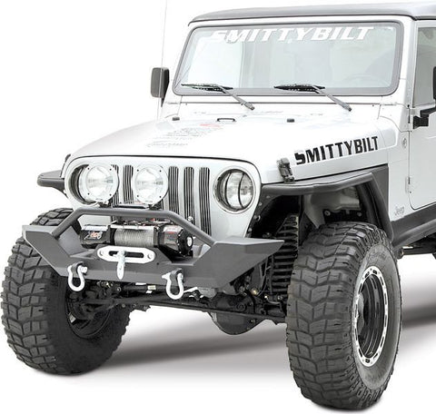 1997-2006 Jeep Wrangler XRC Front Bumper with Winch Plate