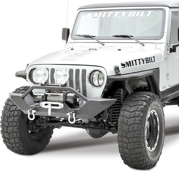 1987 1995 Jeep Wrangler Xrc Front Bumper With Winch Plate