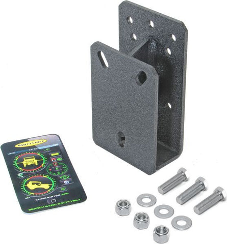 1976-2018 Jeep Wrangler & CJ Smittybilt Spare Tire Relocation Bracket