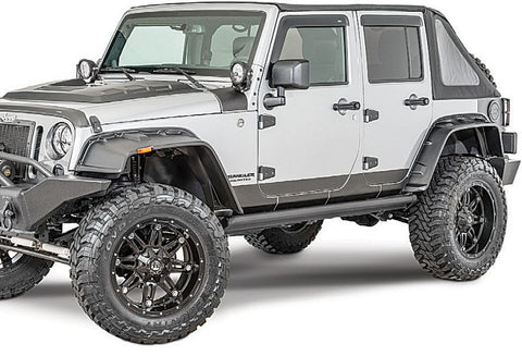2007-2016 Jeep Wrangler Rampage FX Flat Style Smooth Flares