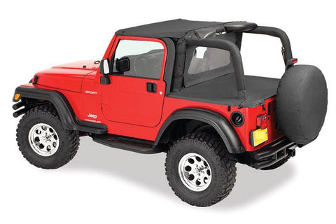1997-2006 Jeep Wrangler Bikini Top, Windbreaker & Tonneau Cover  (color options)