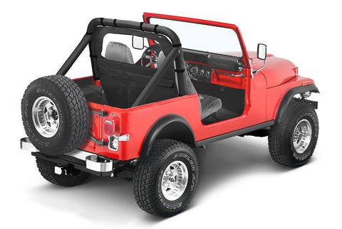 1976-2006 Jeep Wrangler & CJ7 Windbreaker (color options)