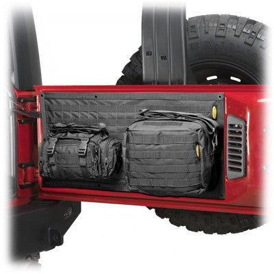 2007-2017 Jeep Wrangler Smittybilt G.E.A.R. Tailgate Cover (multiple colors)