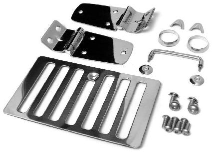 1998-2006 Jeep Wrangler Stainless Steel Hood Kit