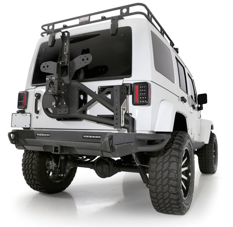 2007-2016 Jeep Wrangler Smittybilt Gen2 XRC Bolt-On Rear Tire Carrier