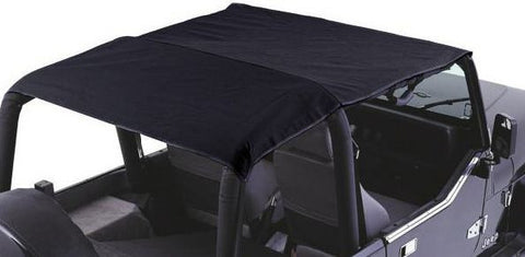 1997-2006 Jeep Wrangler Rampage Combo Brief Topper in Black Denim
