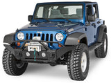 2007-2016 Jeep Wrangler Rampage Front Recovery Bumper with Stinger