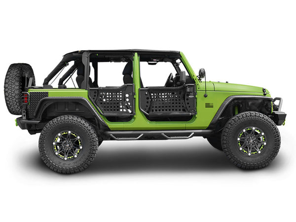 2007 2016 Jeep Wrangler Unlimited Body Armor Gen Iii Trail