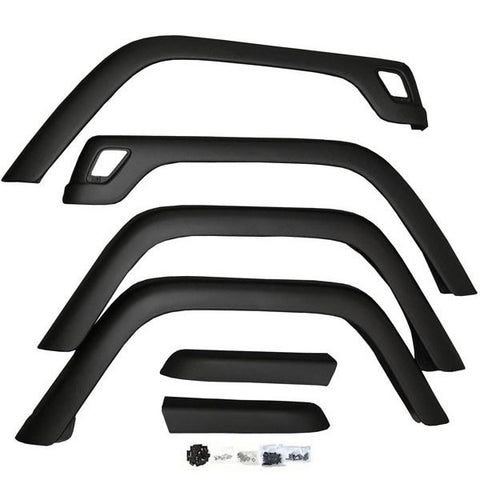 1997-2006 Jeep Wrangler Replacement Fender Flares 6 Piece Kit