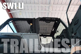 2004-2006 Jeep Wrangler Unlimited SpiderWebShade Trailmesh Top in Black