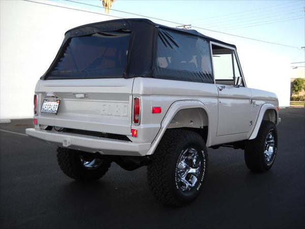 Jeep Wrangler Soft Top >> 1966-1977 Ford Bronco Rampage Complete Soft Top Kit with ...
