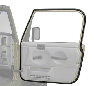1987-1995 Jeep Wrangler Replacement Passenger Side Full Door Seal