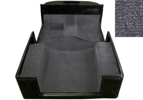 1987-1995 Jeep Wrangler Economy Carpet Kit Charcoal Gray