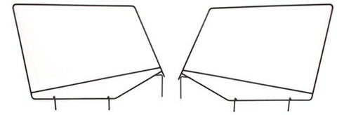1988-1995 Jeep Wrangler Soft Top Hardware Bow Assemblies