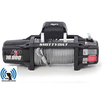 Smittybilt X2O-10K Waterproof Wireless Gen2 Winch