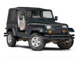 1988-1995 Jeep Wrangler Replacement Soft Top  & Rear Tinted Windows in Black Denim