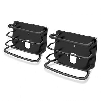 1976-2006 Jeep Wrangler & CJ Smittybilt Rear Euro Tail Light Guards in Black