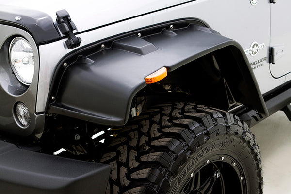 2007 2016 Jeep Wrangler Rampage Fx Flat Style Smooth