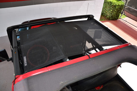 1987-1995 Jeep Wrangler SpiderWebShade TJKini Top in Black