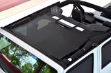 2007-2016 Jeep Wrangler SpiderWebShade JKini Top in Black