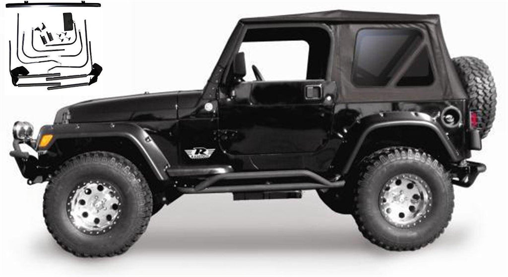 1997 2006 Jeep Wrangler Rampage Complete Soft Top With