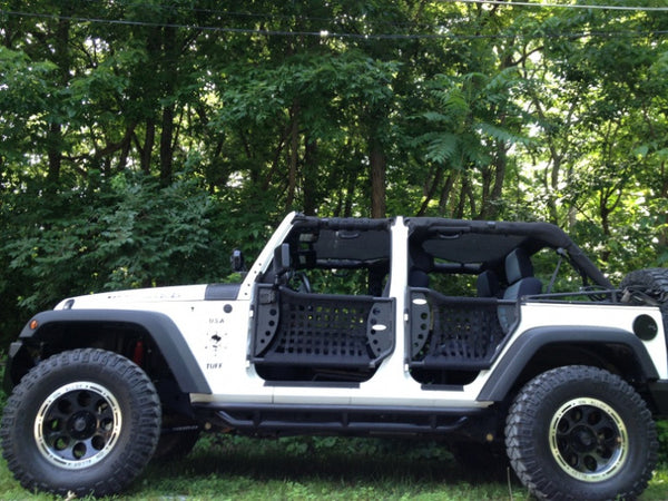 2007-2016 Jeep Wrangler Unlimited Body Armor Gen III Trail ...