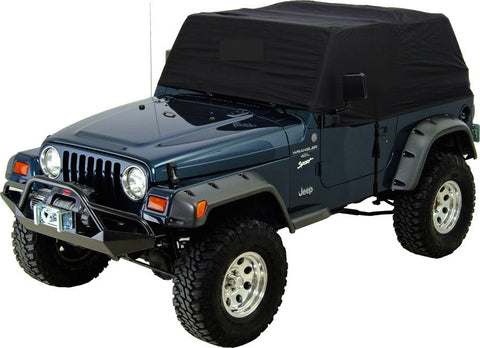 1992-1995 Jeep Wrangler Custom Cabin Cover in Black