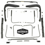 1997-2006 Jeep Wrangler Replacement Factory Soft Top Hardware Kit with Sunrider