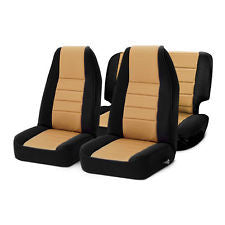 1991-1995 Jeep Wrangler Smittybilt Neoprene Seat Cover Kit (color options)