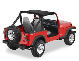1987-1991 Jeep Wrangler Bikini Top (color options)