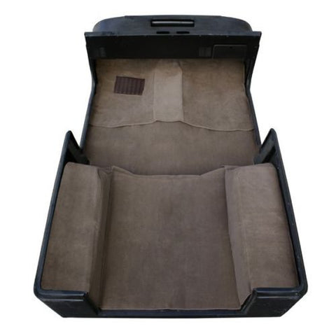 1987-1995 Jeep Wrangler Economy Carpet Kit Charcoal Mocha Tan