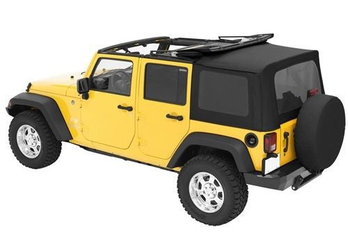 2007 2017 Jeep Wrangler Unlimited Complete Soft Top With