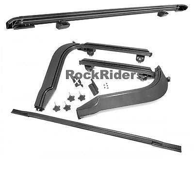 1997-2006 Jeep Wrangler Frameless Soft Top Hardware Install Kit